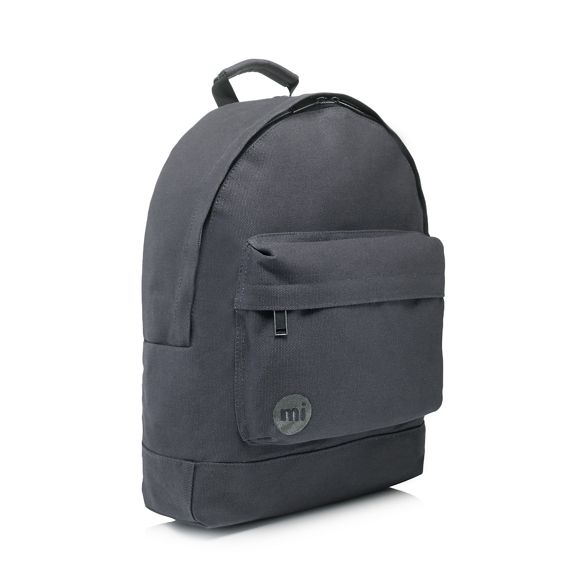 Mi Mi canvas Pac Mi Grey Grey backpack Pac Pac canvas backpack rq7xaOr