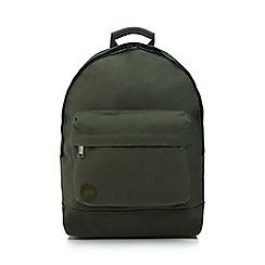 Mi-Pac - Khaki canvas backpack
