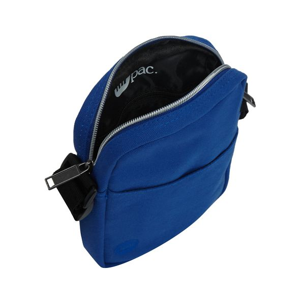 Blue body bag canvas Pac Mi cross 4W7S58aq