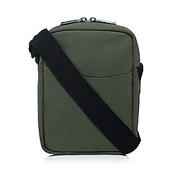 Mi-Pac - Khaki canvas cross body bag