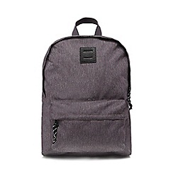 Red Herring - Grey textured backpack