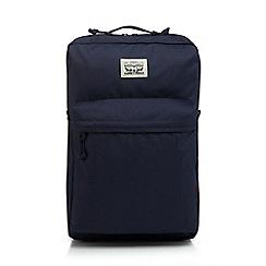 Levi's - Navy logo detail backpack