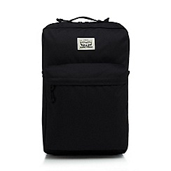 Levi's - Black logo detail backpack