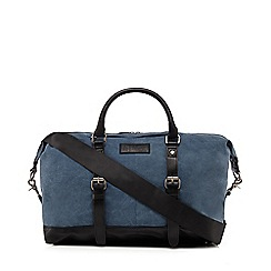 Original Penguin - Blue canvas 'Rems' holdall
