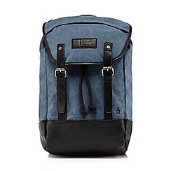 Original Penguin - Blue canvas 'Springs' backpack