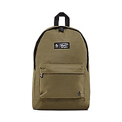 Original Penguin - Khaki 'Homboldt' backpack