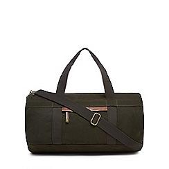RJR.John Rocha - Khaki canvas holdall bag
