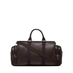 RJR.John Rocha - Brown striped holdall bag