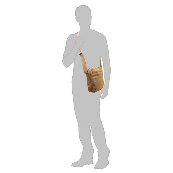 bag cross body canvas Natural Mantaray ZxF8YfF