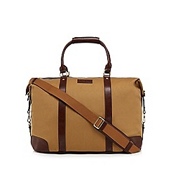 Hammond & Co. by Patrick Grant - Cream tan twill holdall bag