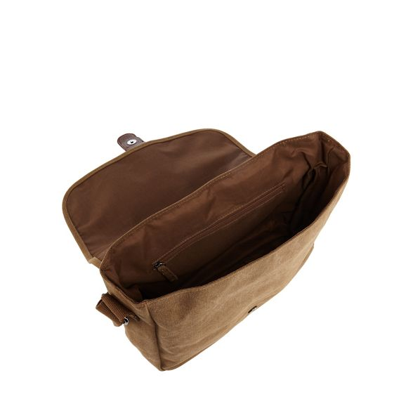 despatch bag Tan Herring Red canvas fTxwX477