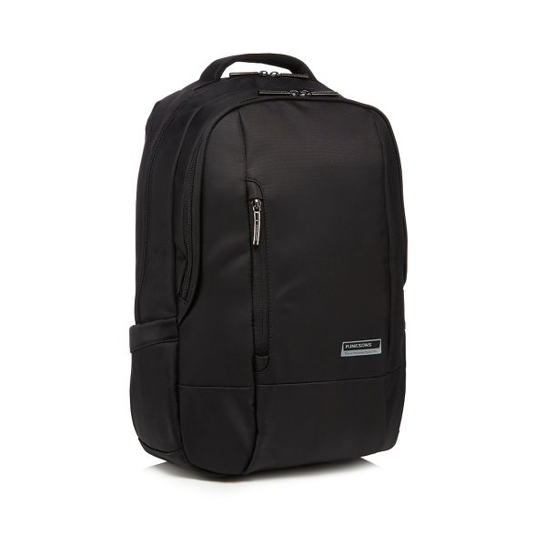 Kingsons backpack Kingsons laptop Black Black 'Elite' 8zqnTqd