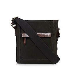 RJR.John Rocha - Khaki canvas cross body bag