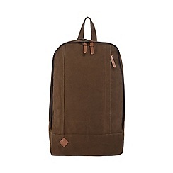 RJR.John Rocha - Green canvas backpack