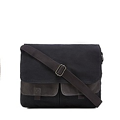 Mantaray - Grey twill despatch bag