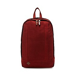 RJR.John Rocha - Dark orange canvas backpack