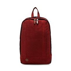 RJR.John Rocha - Dark orange canvas backpack