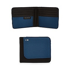 Moleskine - Blue billfold wallet