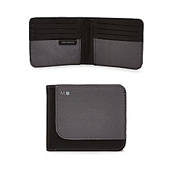 Moleskine - Grey billfold wallet