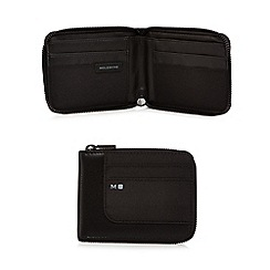 Moleskine - Black smart zip around wallet