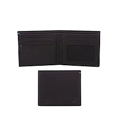 Original Penguin - Black leather wallet and keyring set