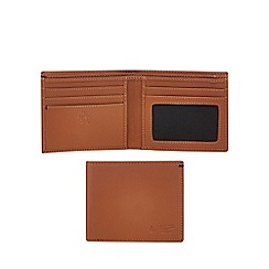 Original Penguin - Brown leather wallet and keyring set