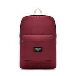 Jack & Jones - Wine 'Classic' backpack