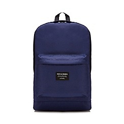 Jack & Jones - Navy 'Classic' backpack