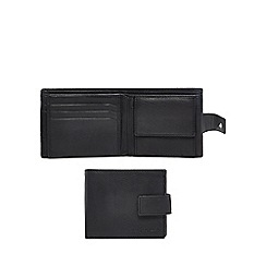 J by Jasper Conran - Black leather data protection wallet