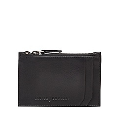 J by Jasper Conran - Black leather card holder