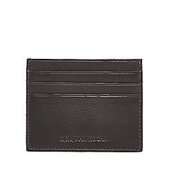 RJR.John Rocha - Brown leather card holder