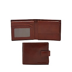 J by Jasper Conran - Tan leather data protection wallet