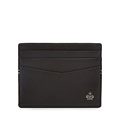 Jeff Banks - Black leather card wallet