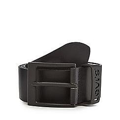 Levi's - Black leather belt