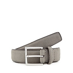 Red Herring - Grey suede belt