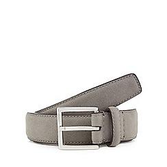 Red Herring - Grey suede belt