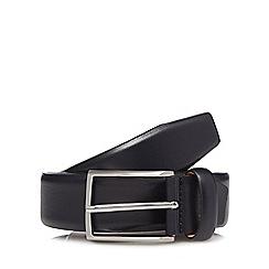 J by Jasper Conran - Navy leather belt