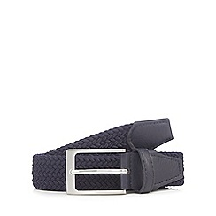 Maine New England - Navy woven belt