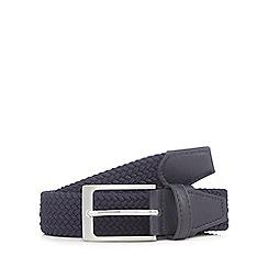 Maine New England - Navy woven belt