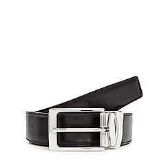 Hammond & Co. by Patrick Grant - Black reversible leather belt