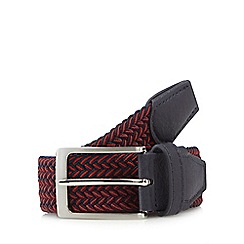 Maine New England - Red stretch weave belt