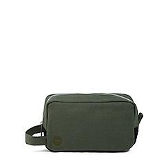 Mi-Pac - Khaki canvas wash bag