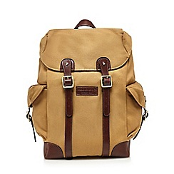 Hammond & Co. by Patrick Grant - Cream twill backpack
