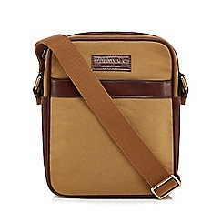Hammond & Co. by Patrick Grant - Cream twill cross body bag