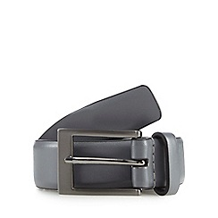The Collection - Grey leather belt