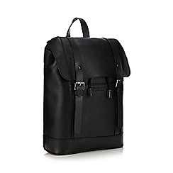 Hammond & Co. by Patrick Grant - Black leather backpack