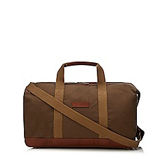 Hammond & Co. by Patrick Grant - Khaki waxed canvas holdall
