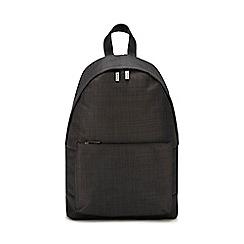 J by Jasper Conran - Grey melange backpack