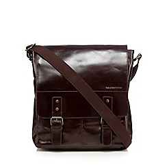 RJR.John Rocha - Designer chocolate leather utility bag