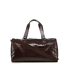 RJR.John Rocha - Designer brown 'Brooklyn' leather holdall bag
